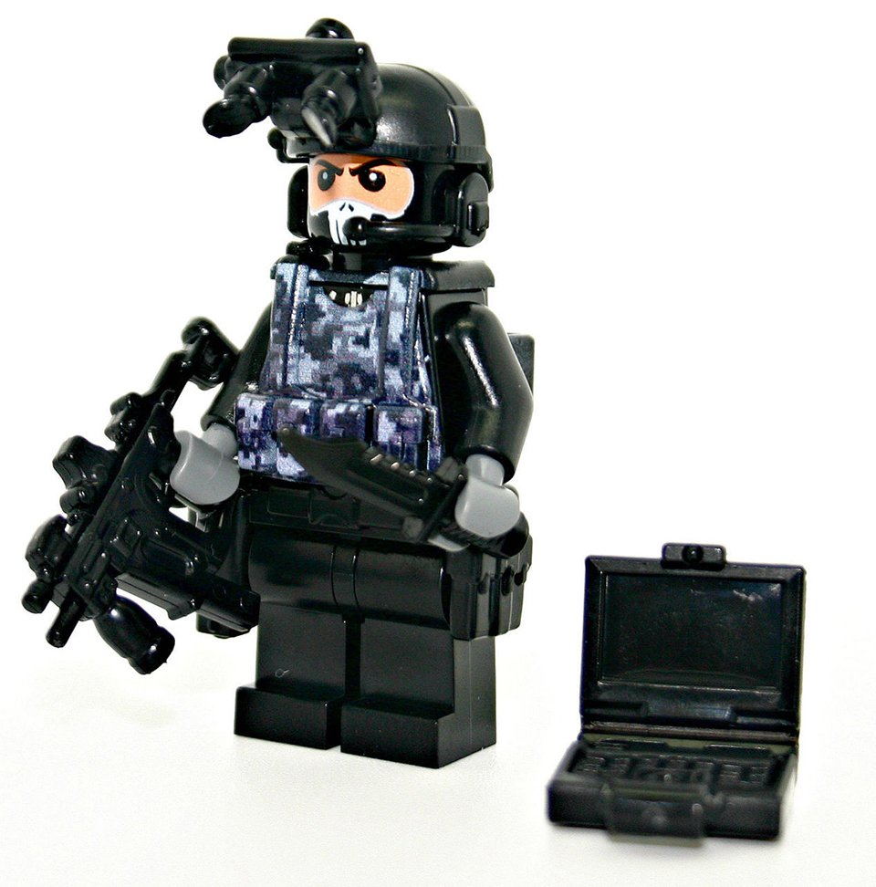 LEGO Military Minifigs & Accessories: Modern Brick Warfare ...