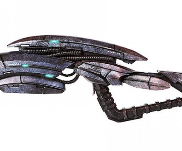 Mass Effect 3 Geth Pulse Rifle Replica: You'll Shoot Your Eye out, Kid.