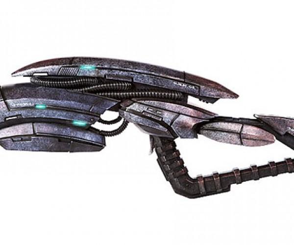 Mass Effect 3 Geth Pulse Rifle Replica: You'll Shoot Your Eye out, Kid.