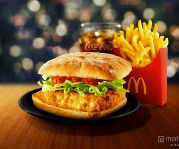 McDonald's Japan gets Crabs