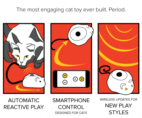 You Cat Probably Would Love Mousr: The Robot Mouse Cat Toy