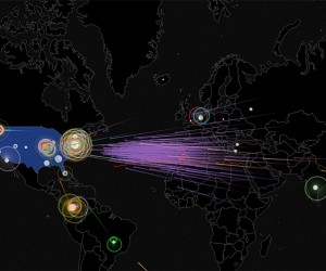 Norse IPViking Online Map Shows Cyber Attacks in Real Time: WarGames 3