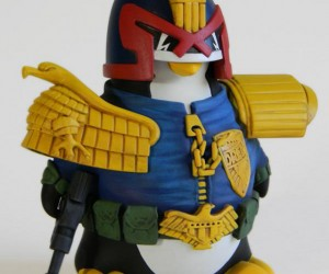 Penguin Judge Dredd Deals out The Cutest Executions