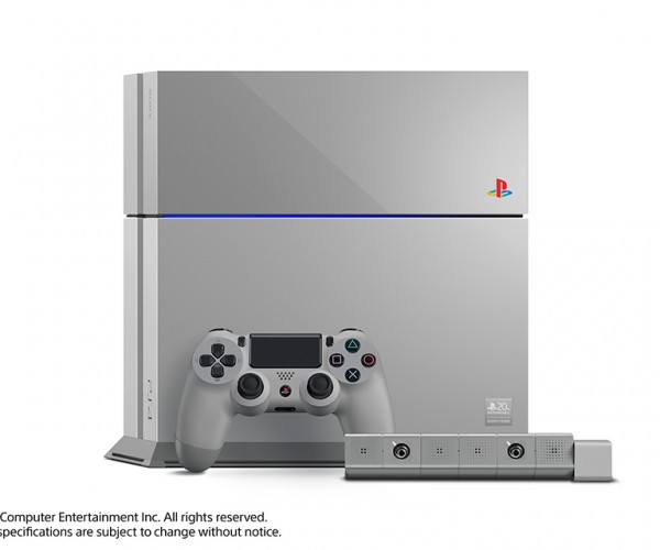 PlayStation 4 20th Anniversary Edition: Young and Gray