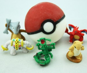 Pokéball Soap Has Pokémon Figurine Inside: Gotta Bathe and Bathe and Bathe...