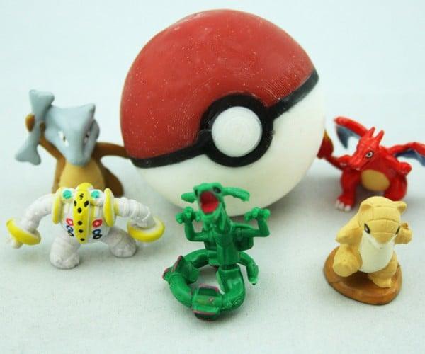 Pokéball Soap Has Pokémon Figurine Inside: Gotta Bathe and Bathe and Bathe…