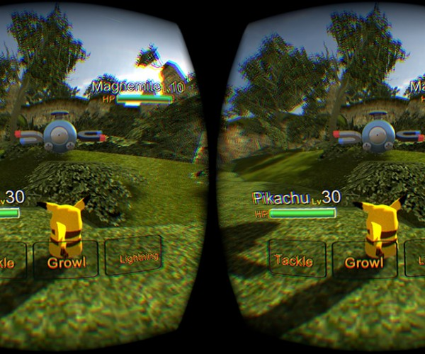 Pokémon VR: First-Person Trainer