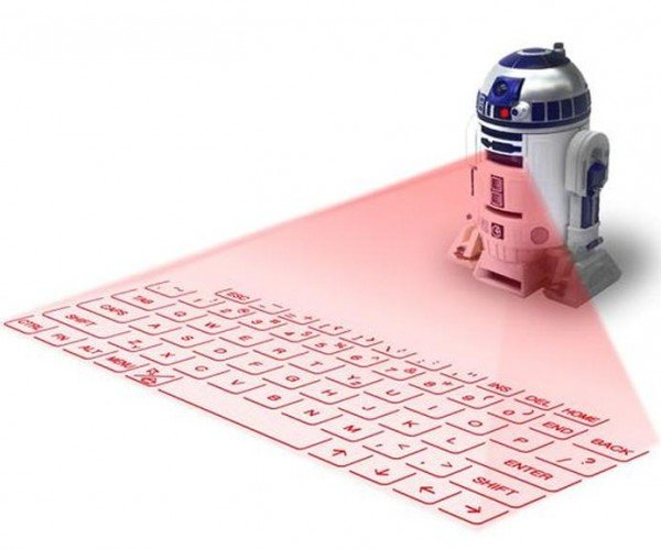 R2-D2 Laser Keyboard Available for U.S. Pre-order