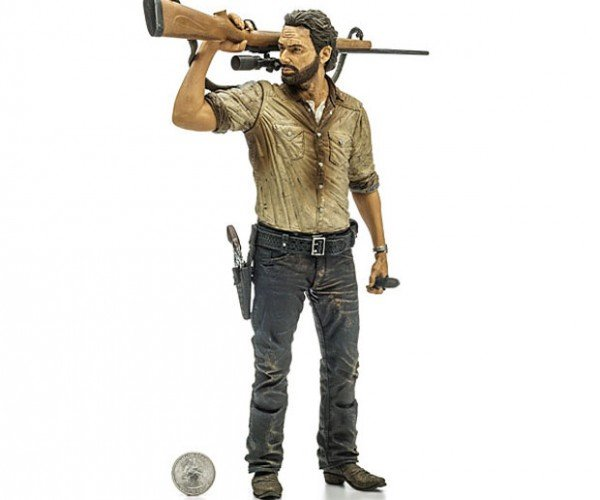 Rick Grimes 10-inch Walking Dead Action Figure Will Protect Coral