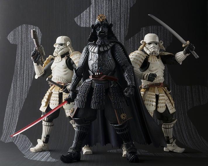 Samurai Darth Vader  U0026 Stormtrooper  The Shogun Strikes Back