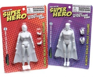 DIY Super Hero Action Figures Let You Roll Your Own