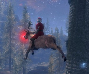 Skyrim Santa to Deliver Gifts to Every NPC in the Game