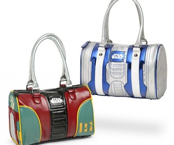 Star Wars Boba Fett and R2-D2 Bowling Bag Style Purses