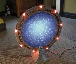 3D-Printed Stargate Replica Needs a Tiny DHD