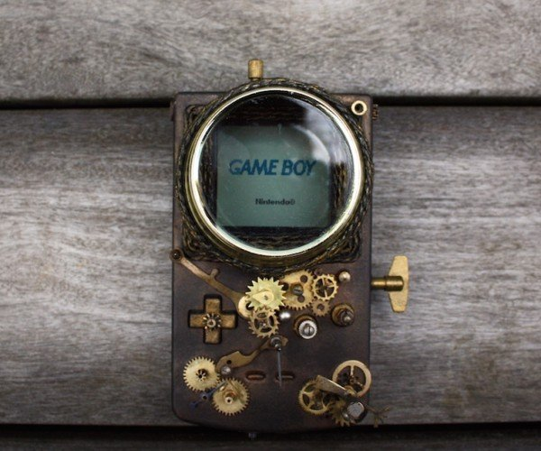 Steampunk Game Boy: Got Brass in Pocket
