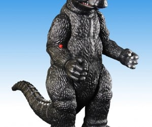 Toynami Retro Godzilla Action Figure: Flying Fist of Fury