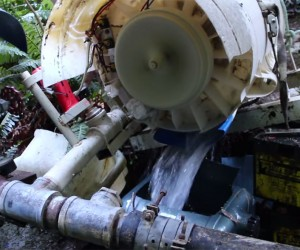 Washing Machine Hydroelectric Generator: Power Cycle