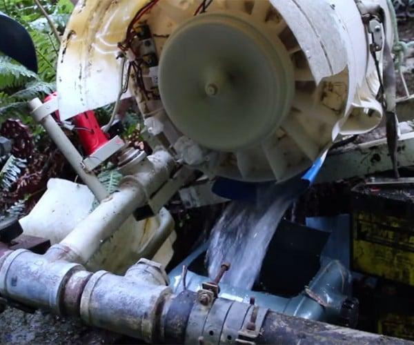 Washing Machine Hydroelectric Generator: Power Cycle