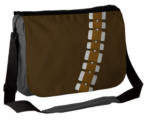Chewbacca Big Walking Carpet Messenger Bag