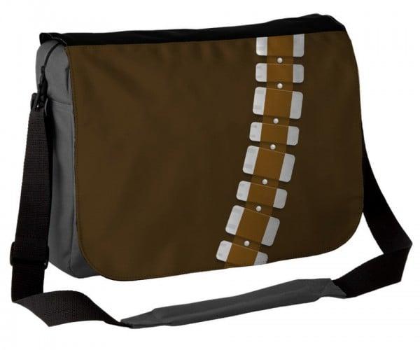 Chewbacca Big Walking Carpet Messenger Bag