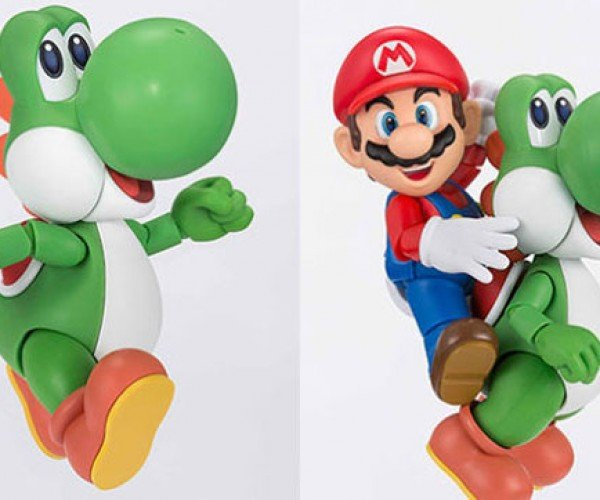 Yoshi Action Figure Gets Its Strut On