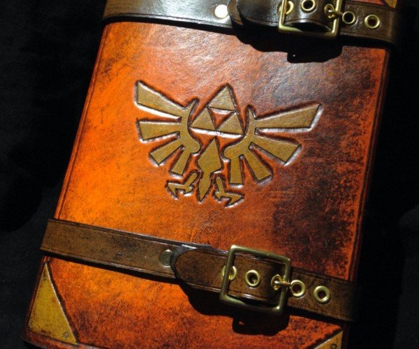 Zelda Triforce Journal Book Cover: Hyrulean Literature