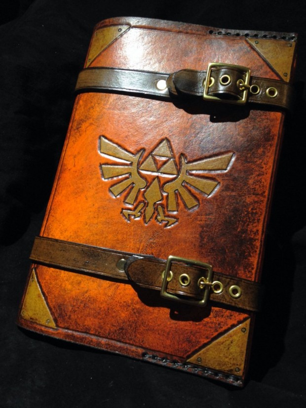 zelda journal cover
