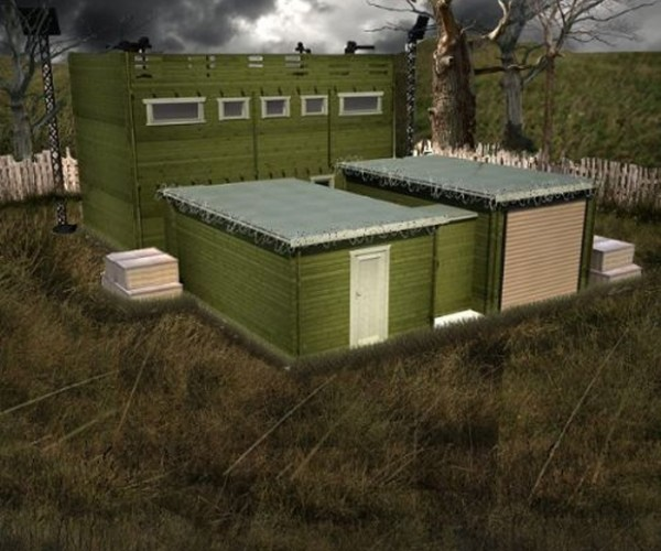 $110,000+ Zombie Fortification Cabin Will Keep You Safe, and Broke