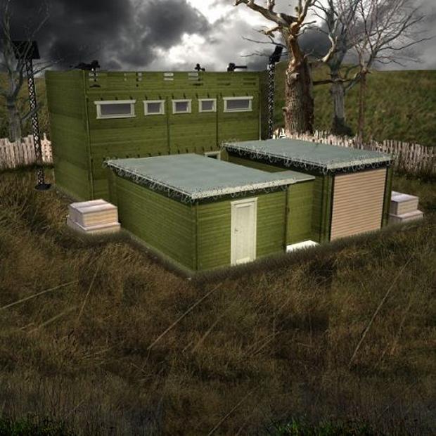 zombie cabin