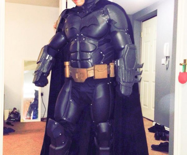 3D Printed Batman Costume: Holy Stiff Abs Batman!