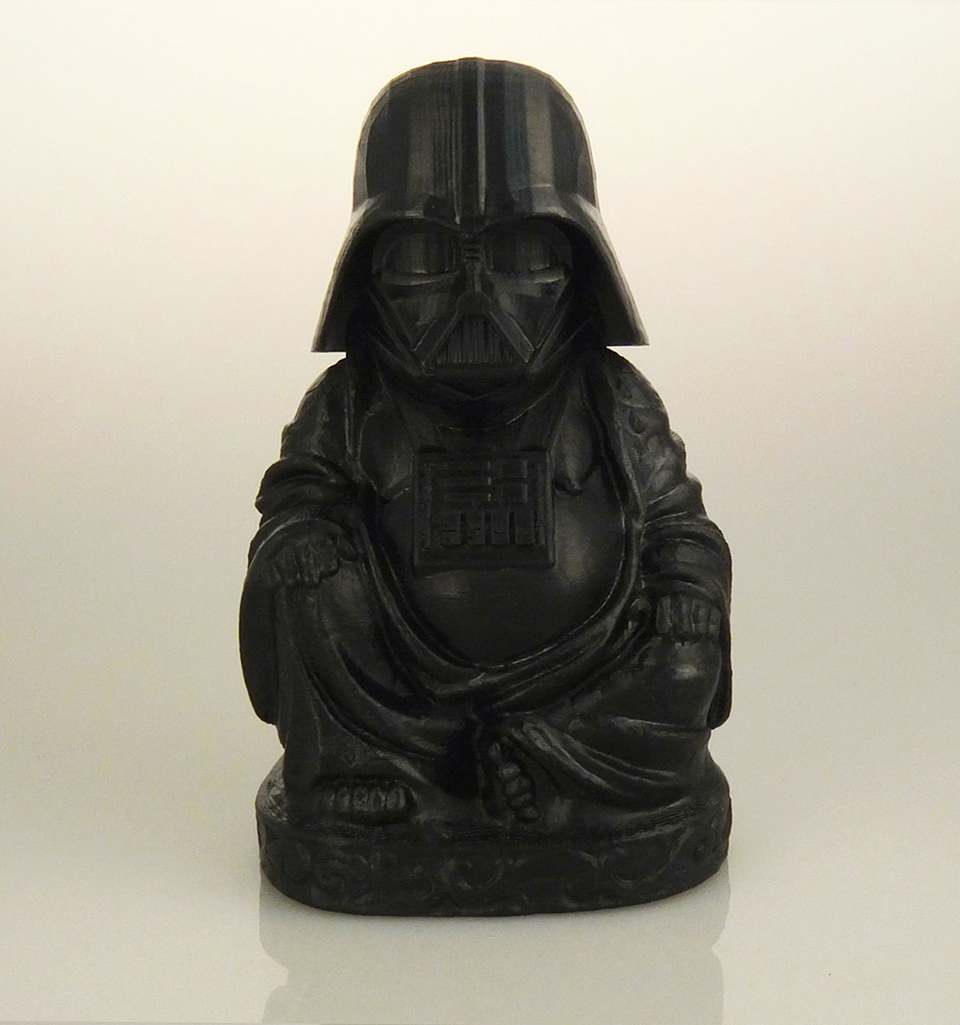 3d printed geeky laughing buddhas what is the sound of for 3d zen