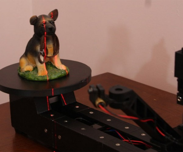 Atlas 3D Scanner Kit is Cheap, DIY and Raspberry Pi Powered