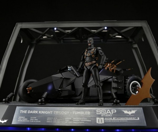 Amazing R/C Batman Tumbler: Where Does He Get All Those Wonderful Toys?