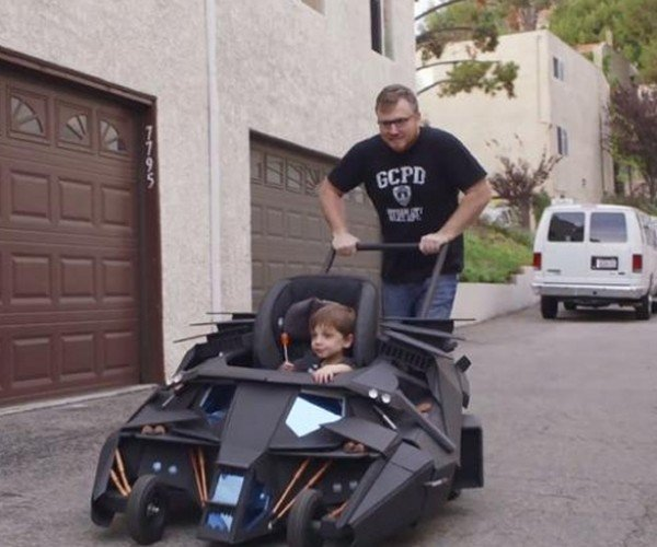 Awesome Batmobile Baby Stroller: The Dark Tot
