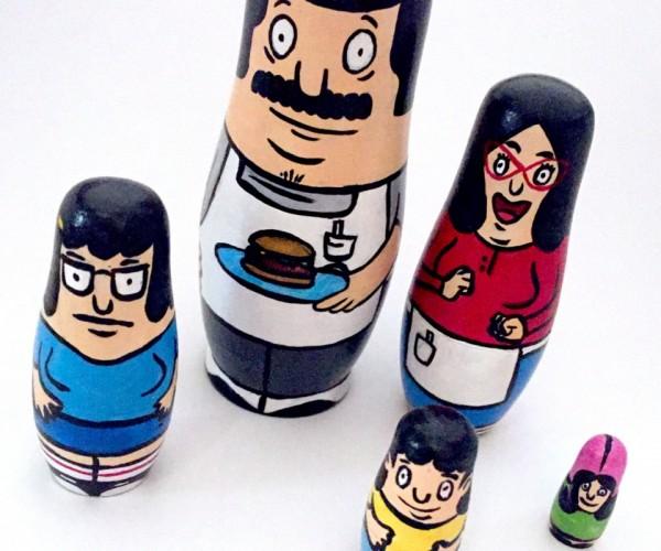 Bob's Burgers Nesting Dolls: Alriggght!
