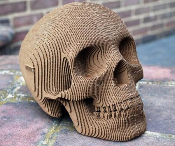 Cardboard Skull: Paper Noggin