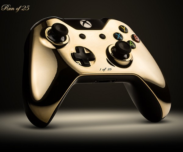 ColorWare 24K Gold Plated PS4 & Xbox One Controllers: Next Gen Bling