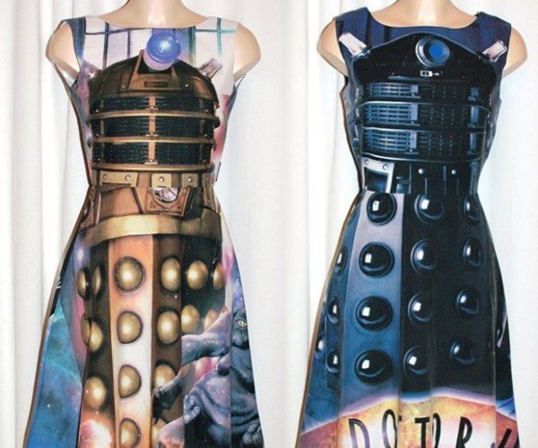 These Dalek Dresses Will Exterminate Gawkers