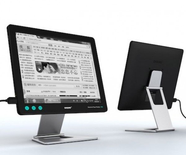 "Dasung 13.3"" E-ink Monitor: Everything Reader"