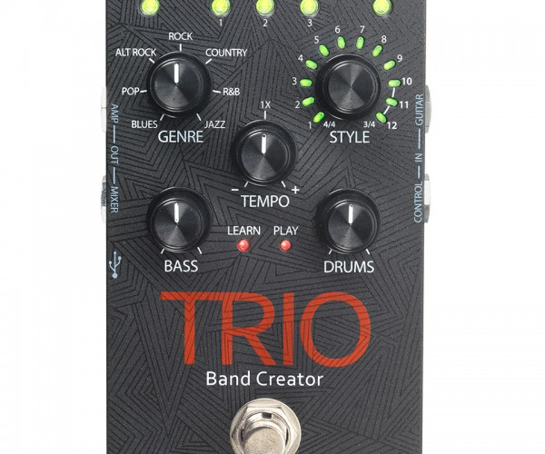 DigiTech Trio Guitar Pedal Adds Bass and Drum Accompaniment: Forever Alone's Bandmate