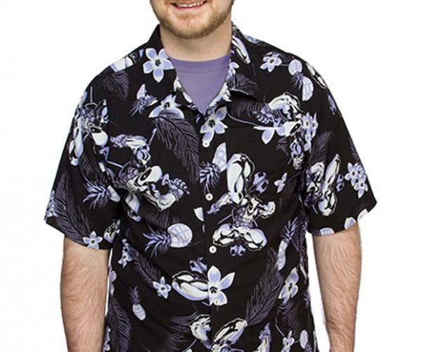 Deadpool Hawaiian Shirt is Perfect for Pancake Time