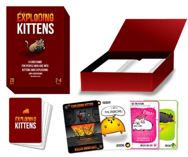 Exploding Kittens: An Explosive New Card Game