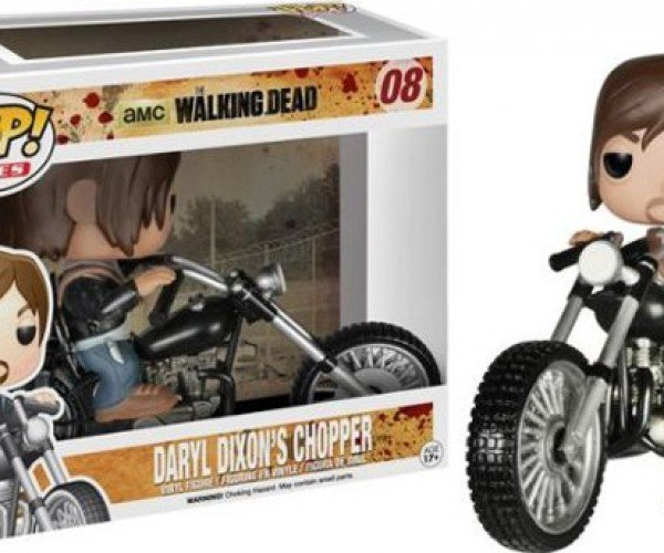 Funko Pop! Daryl Dixon Gets His Chopper, and Jesse Pinkman Gets His RV