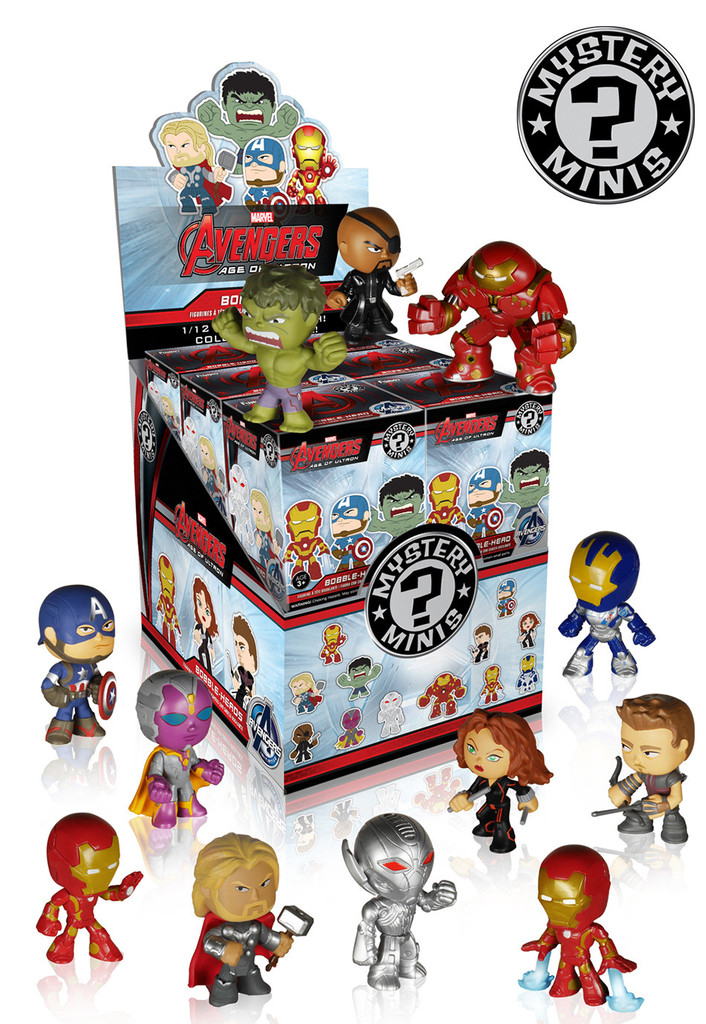 Funko Avengers Age Of Ultron Figures Give Us A Cute