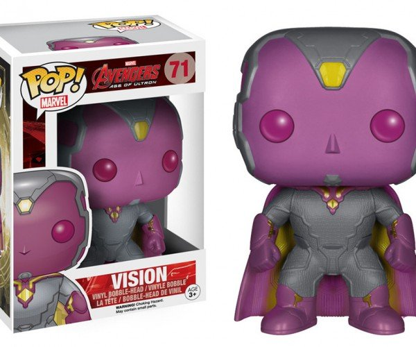 Funko Avengers: Age of Ultron Figures Give Us a Cute Vision of Vision