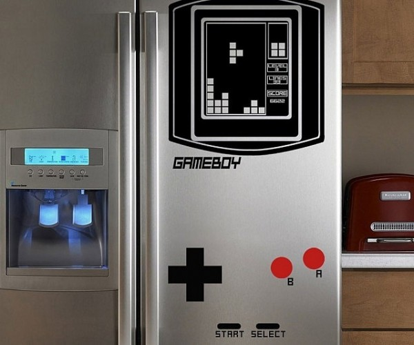 Game Boy Refrigerator Decal: That's One Cool Nintendo