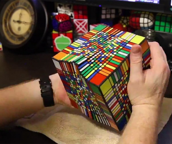 Watch a 17×17×17 Rubik's Cube Being Solved