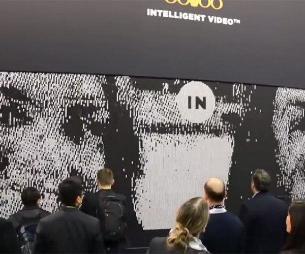 Flip-dot Display Wall: 0.5K Resolution