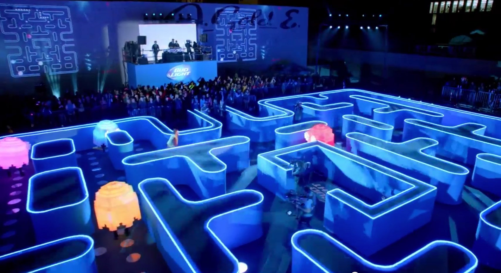Bud Light Posts Its Pac Man Super Bowl Commercial Early