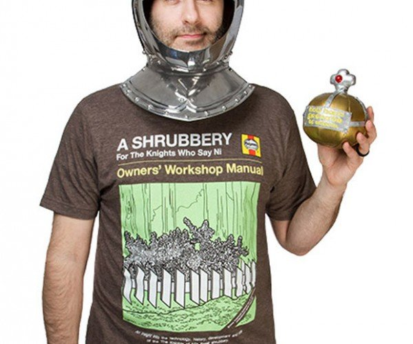 Thou Shalt Bring us a Shrubbery T-Shirt